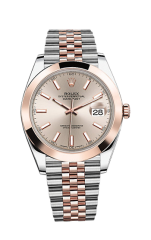 Rolex Steel and Everose Gold 41 мм 126301-0010