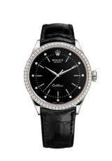 Rolex Cellini Time 39 White gold Polished finish 50709rbr-0008 — фото превью