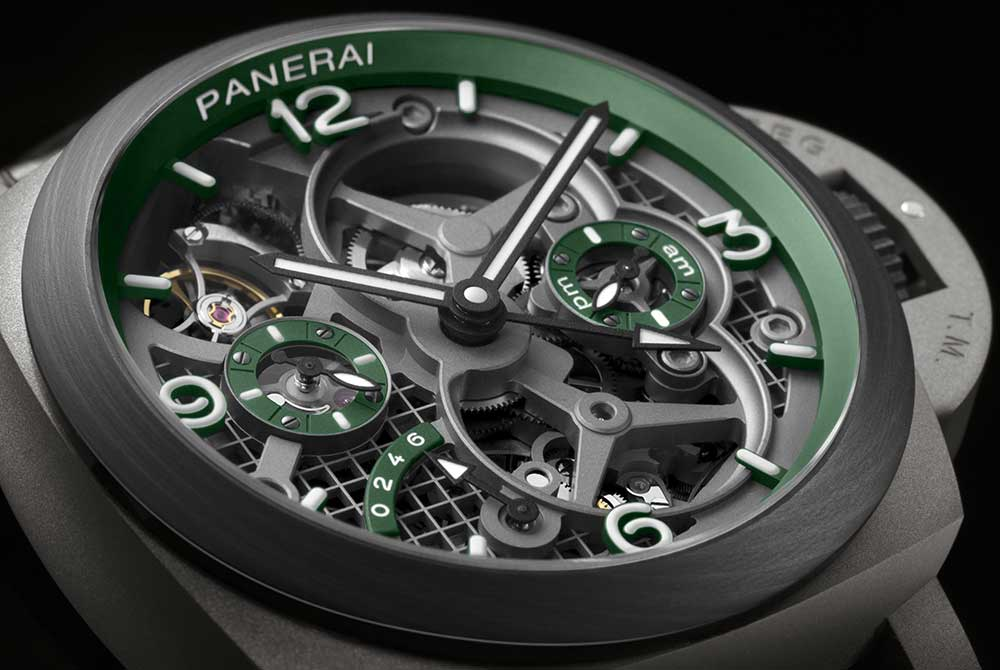 Panerai выпускают Luminor Tourbillon GMT 47mm Lo Scienziato