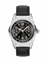 Montblanc Summit Smartwatch of Titanium and Leather Strap 117551 — фото превью
