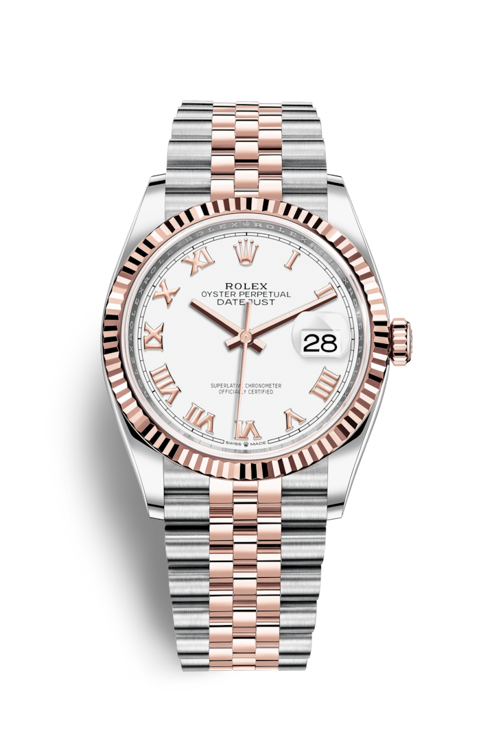 Rolex Oyster 36 мм Steel and Gold Everose 126231-0015