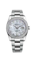 Rolex Steel and White Gold 36 мм 116244-0020 — фото превью