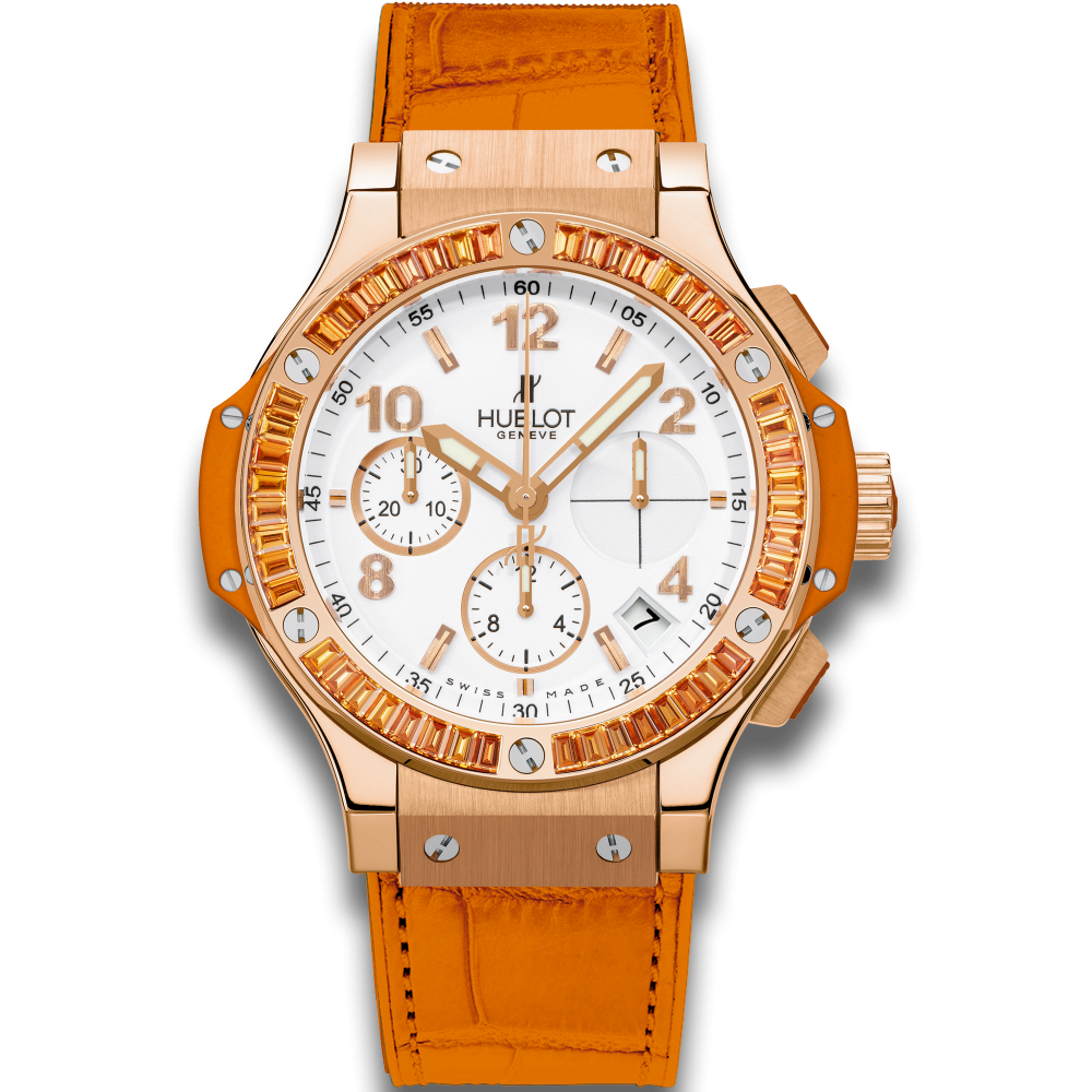 Hublot Tutti Frutti Orange 41 mm 341.PO.2010.LR.1906