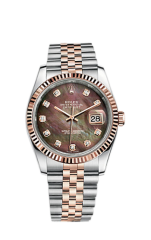 Rolex Steel and Everose Gold 36 мм 116231-0061 — фото превью