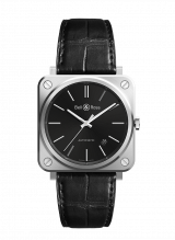 Bell & Ross BR S-92 Black Steel Automatic BRS92-BLC-ST/SCR — фото превью