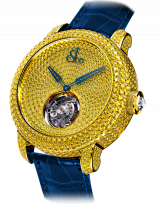 Caviar Tourbillon Pave Yellow Diamonds