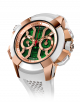 Epic X Chrono Rose Gold Green Dial