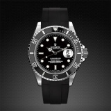 Rolex Submariner Non-Ceramic Classic Series Jet Black M103-BK-SNC