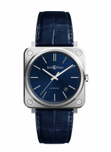Bell & Ross BR S-92 Blue Steel Automatic BRS92-BLU-ST/SCR — фото превью