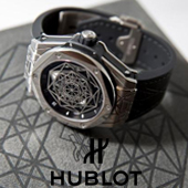 Hublot отмечают Big Bang Sang Bleu pop-up тату-салоном