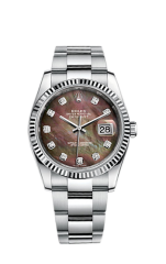 Rolex Steel and White Gold 36 мм 116234-0149 — фото превью