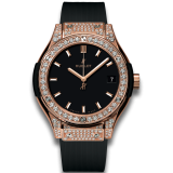 Hublot King Gold Pavé 33 mm 581.OX.1181.RX.1704