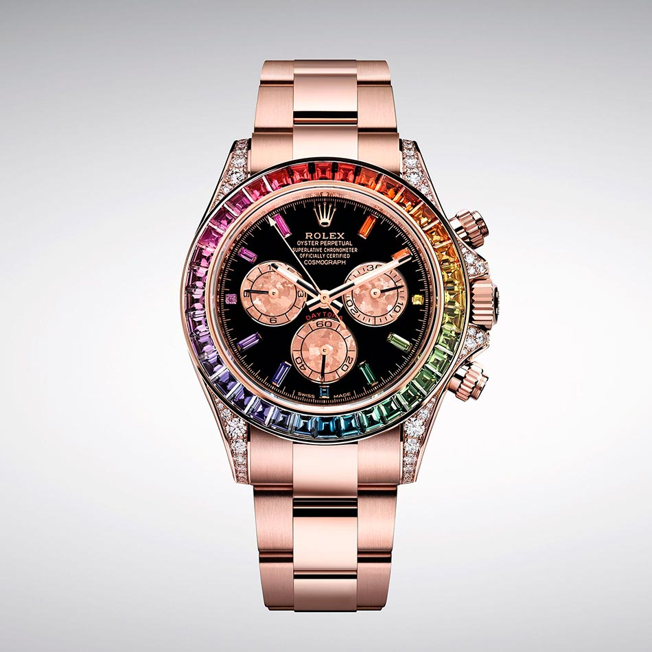 "Baselworld 2018: Rolex представили Daytona ""Rainbow"" Everose"