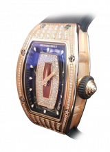 Richard Mille RM 07 Diamonds Gold Red Dial RM 07 Diamonds Gold Red Dial