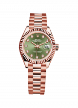 Lady-Datejust 28 Oyster Everose gold