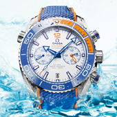 Omega Seamaster Planet Ocean «Michael Phelps» Limited Edition