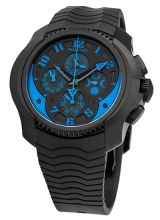 Chronograph Simple Quantieme Automatic Blue
