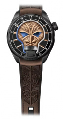 Skull Tribal Maori Rich Time Edition