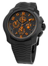 Chronograph Simple Quantieme Automatic Orange