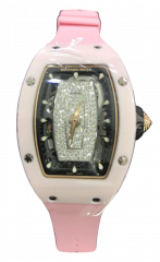 Richard Mille RM 07 Diamond Pave Pink Ceramic RM 07 Diamond Pave Pink Ceramic