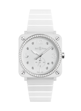 Bell & Ross BR S WHITE CERAMIC DIAMONDS BRS-WH-CES-LGD/SCE