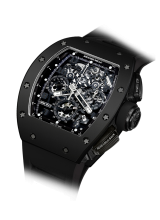 RM 011 Automatic Flyback Chronograph Black Phantom