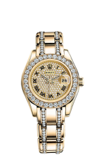 Yellow Gold and Diamonds 29 мм
