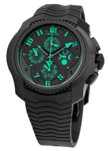 Chronograph Simple Quantieme Automatic Green