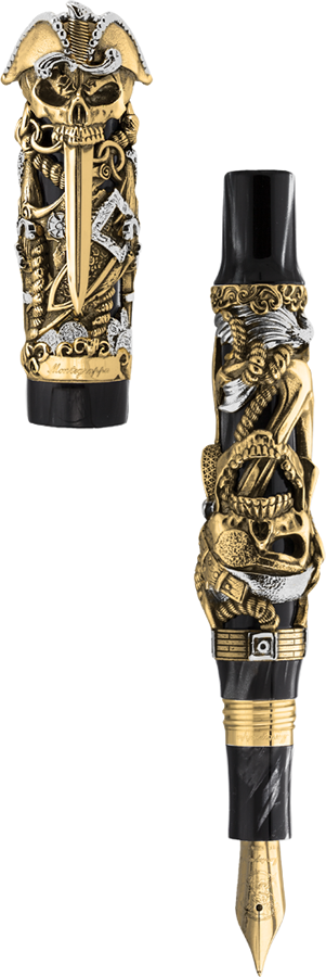 Montegrappa  Pirates Gold ISCUP_GC