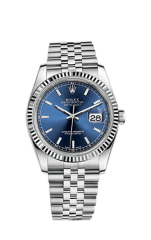 Rolex Steel and White Gold 36 мм 116234-0139