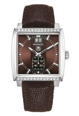 TAG Heuer Grande Date Diamond Bezel and Diamond Dial 37 мм WAW1316.EB0025 — фото превью