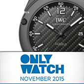 Модель IWC на аукционе Only Watch