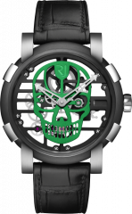 Skylab 48 Speed Metal Green Skull