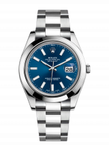 Rolex Datejust 41 126300-blue — фото превью