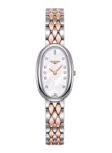 The Longines Symphonette Steel and Gold