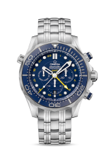Omega Co-Axial GMT Chronograph 44 мм 212.30.44.52.03.001