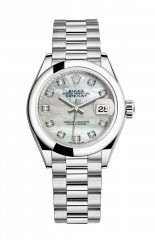 Rolex Lady-Datejust 28 mm 279166-0008 — фото превью