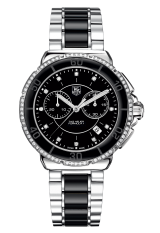 TAG Heuer Steel and Ceramic Diamonds 41 мм CAH1212.BA0862 — фото превью