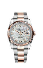 Rolex Steel and Everose Gold 36 мм 116231-0079