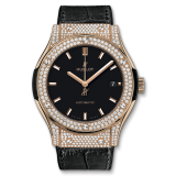 Hublot King Gold Pavé 45 mm 511.OX.1181.LR.1704