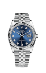 Rolex Steel and White Gold 36 мм 116234-0142 — фото превью