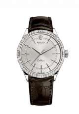 Rolex Cellini Time 39 White gold Polished finish 50709rbr-0012 — фото превью