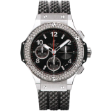 Hublot Big Bang Black Dial Black Rubber Men's Watch 341.SX.130.RX.114 — фото превью