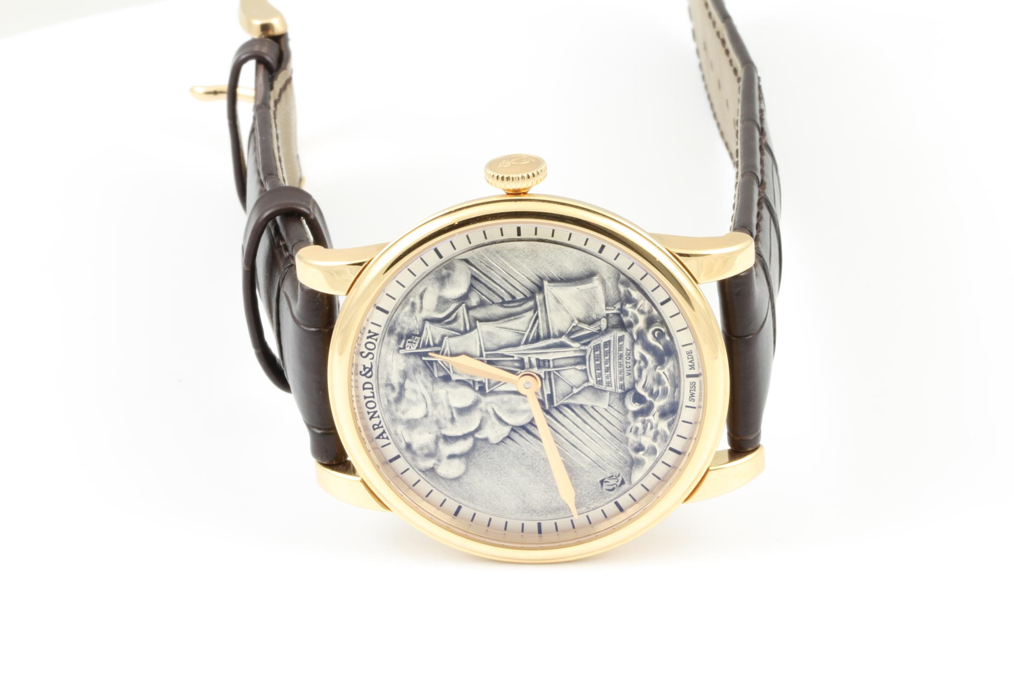 Arnold & Son HMS Victory - HMS Victory At Sea, Lit By Rays Of Sunshine Piercing The Clouds 1LCAP.S05A.C111A