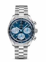 Omega Speedmaster 38 co-axial chronograph 38 мм 324.30.38.50.03.002 — фото превью