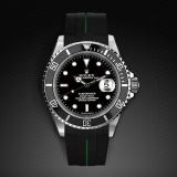 Rolex Submariner Non-Ceramic Classic Series VulChromatic Jet Black Forest Green M103-BK/VCFG-SNC