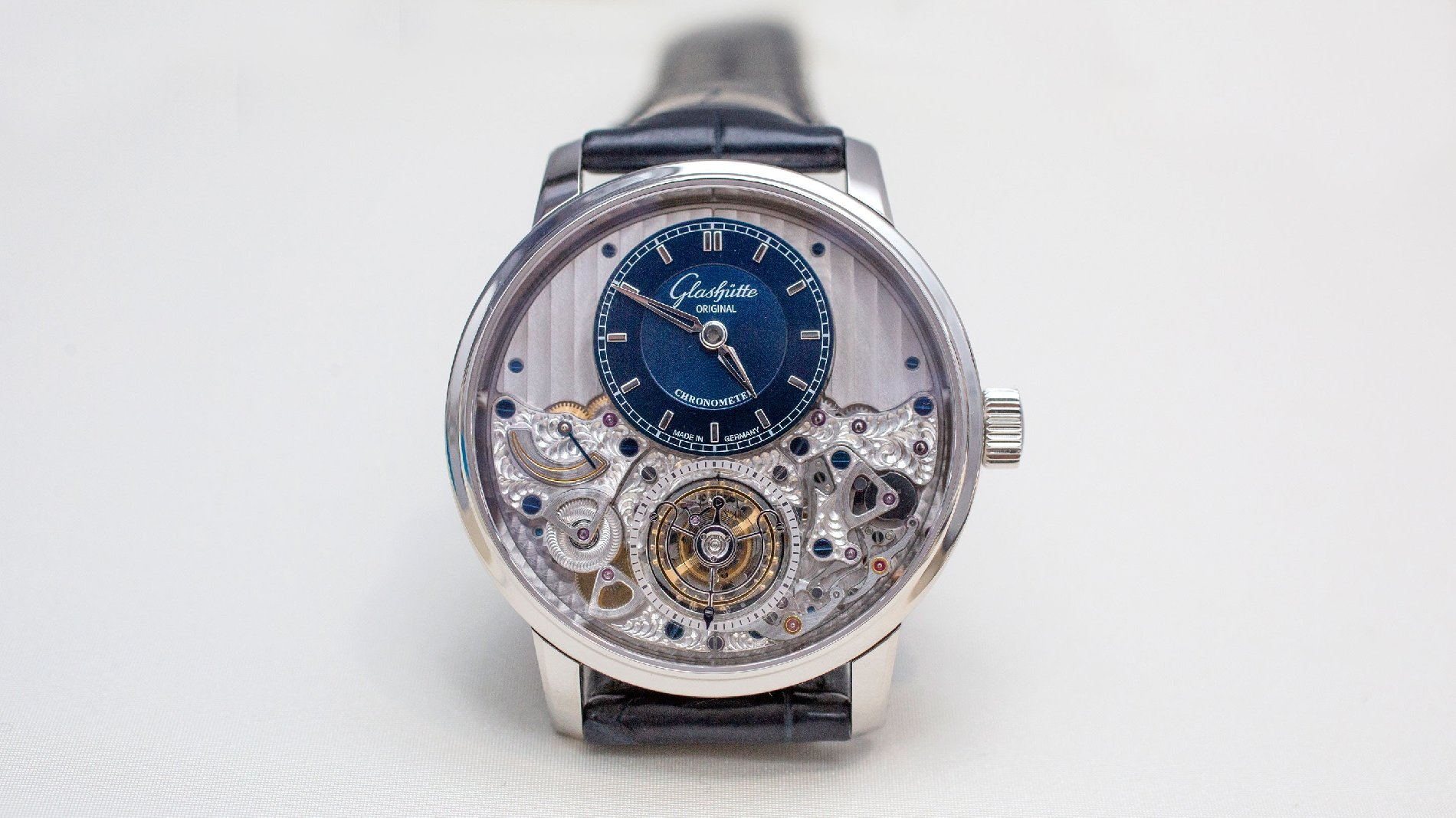 Новые Original Senator Chronometer Tourbillon Limited Edition от Glashütte