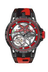 Spider Pirelli PitStop – Single flying tourbillon