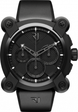 Moon Invader Black Metal Chrono