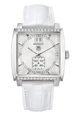 TAG Heuer Grande Date Diamond Bezel and Diamond Dial 37 мм WAW1313.FC6247 — фото превью
